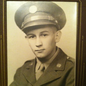 Phil Harvey, U.S. Army, 1945.