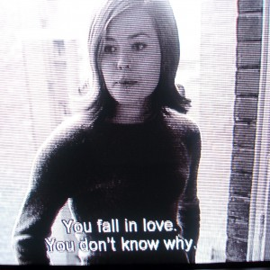 YOU FALL IN LOVE.