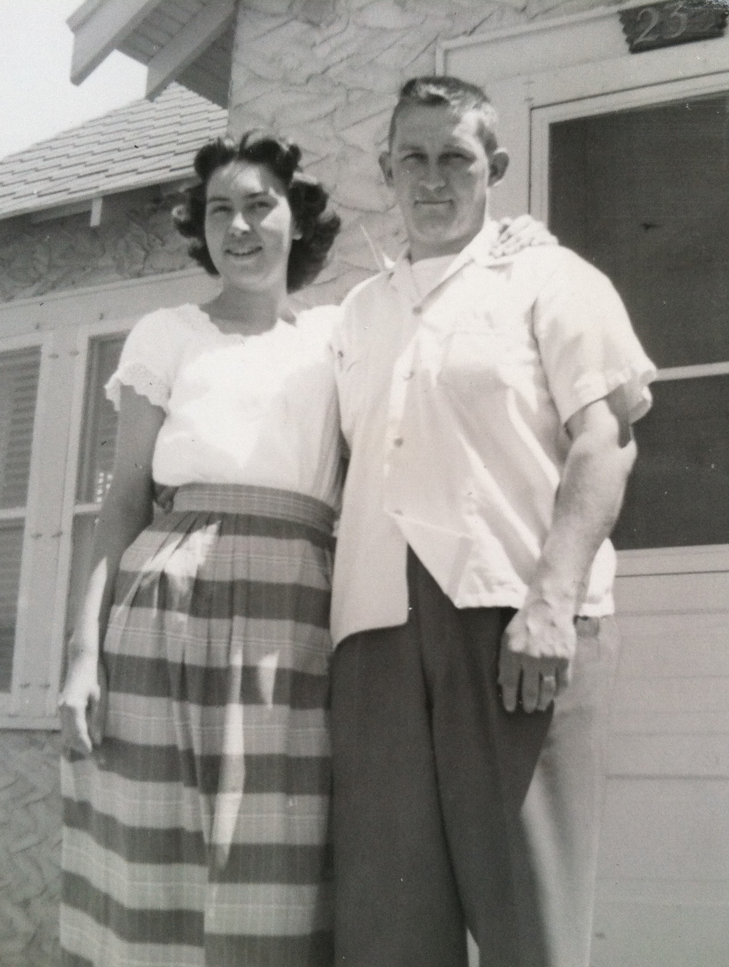 Mom and Dad around 1950.
