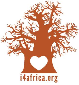 The i4africa logo features a simple heart stamped in the center of a sturdy, majestic Baobab tree that is spreading its wide, wild, and generous limbs. The symbol of the sacred tree reflects the way that many who know Chandler feel about him – he is contemplative, stately, kind, and big-hearted.