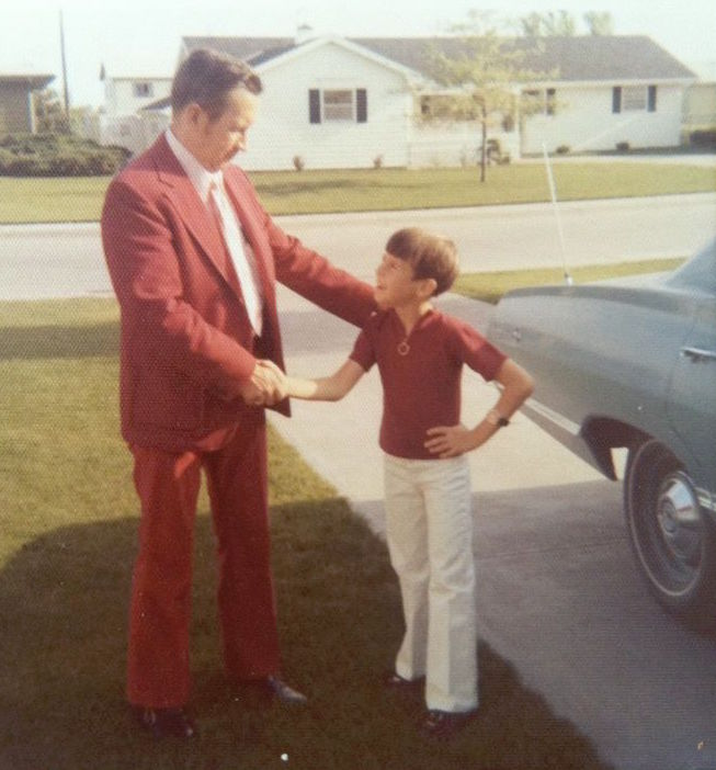 Me and my old man - 1973.
