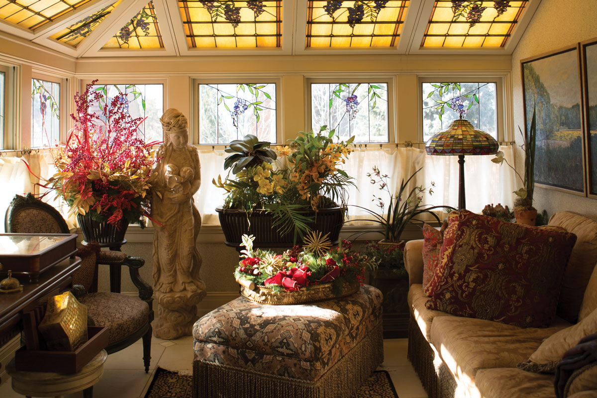 One of the beautiful parlors.