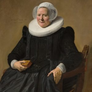 "Frans Hals's 1633 ""Portrait of an Elderly Lady"""