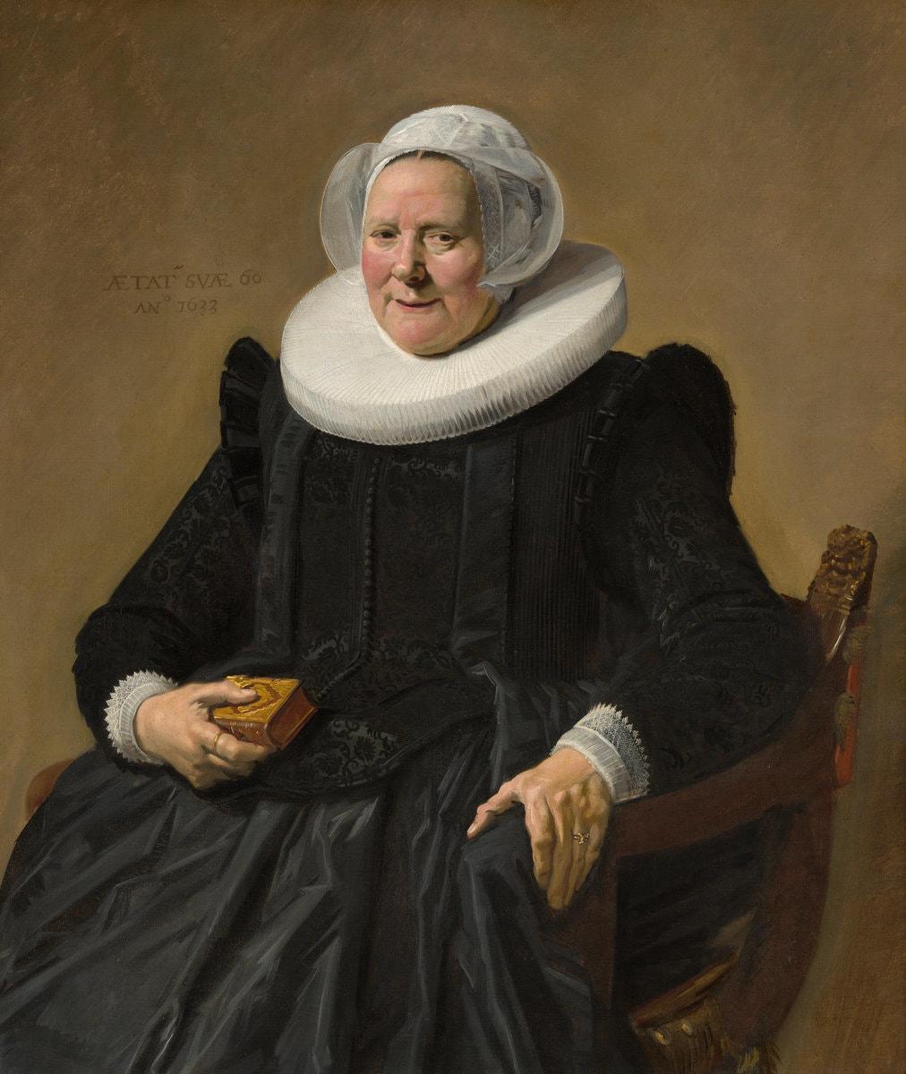 "Frans Hals's 1633 ""Portrait of an Elderly Lady"""